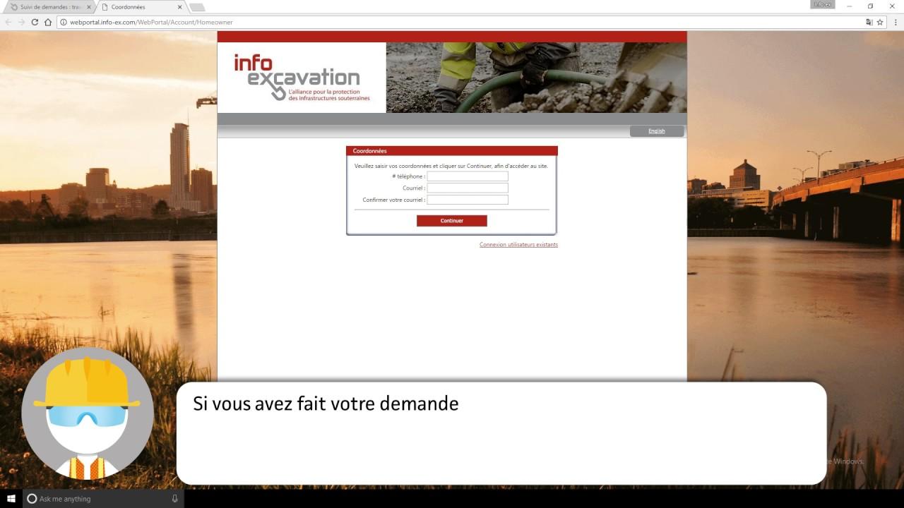 Tutoriel vidéo : comment faire une demande de suivi