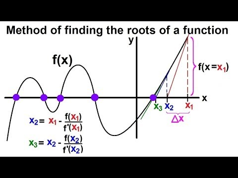Calculus: Newton's Method (1 of 7) Basics: Roots of Functions