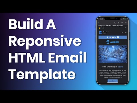HTML Email Template From Scratch with HTML Tables and CSS
