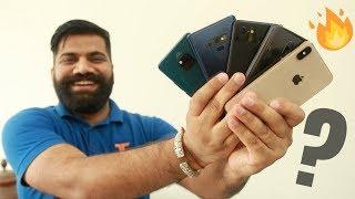 Top 5 Flagship Phones of 2018 - TG Picks🔥🔥🔥
