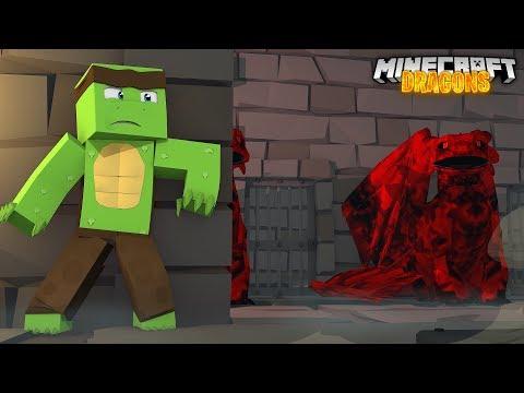 BREAKING INTO THE SECRET DRAGON VAULT! - Minecraft Dragons