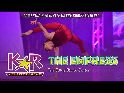 """""""The Empress"""" from The Surge Dance Center"""