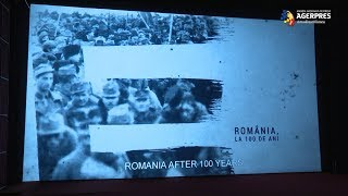 """Documentarul AGERPRES """"Marea Unire - România, la 100 de ani"""", proiectat în premieră, în prezenţa Custodelui Coroanei, Margareta"""