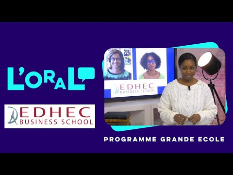 L'oral : PGE Edhec
