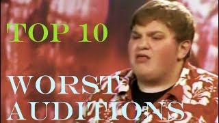Top 10 Worst American Idol Auditions