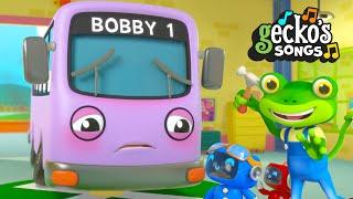 Bobby The Bus is Sick Song | Nursery Rhymes & Kids Songs | Gecko's Garage | Trucks For Children