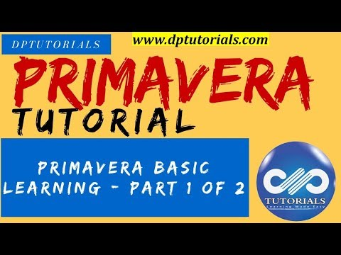 LEARN PRIMAVERA - BASIC LEARNING - PART 1 OF 2 ... - YouTube