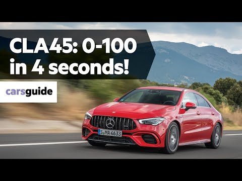 Mercedes-AMG CLA45 S 2020 review
