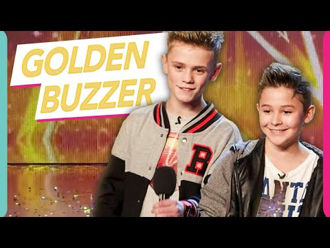 Simon Cowell's Golden Buzzer Bars & Melody STEAL The Show With Original Song! Britain's Got Talent!