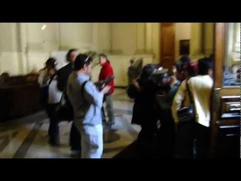 La Toma del Congreso en Santiago de Chile