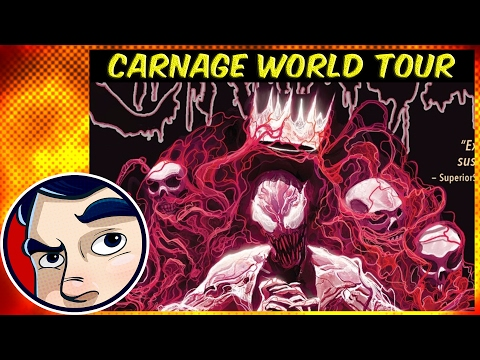 """Carnage Uses the Darkhold """"World Tour"""" Vol 2 – ANAD Complete Story"""