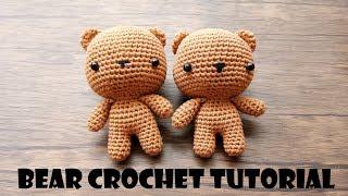 VERY CUTE!!! BIG FACE BEAR | CROCHET WITH ME | TUTORIAL BONEKA RAJUT