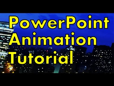 powerpoint 2013 animation tutorial animation tricks