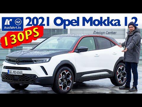 2021 Opel Mokka 1.2 Turbo GS Line AT8 - Kaufberatung, Test deutsch, Review, Fahrbericht Ausfahrt.tv