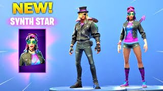 *NEW* SYNTH STAR & STAGE SLAYER SKINS IN THE ITEM SHOP! (Fortnite New Item Shop)