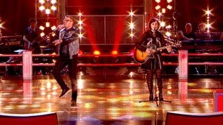 The Voice UK 2013 | Moni Tivony Vs Emily Worton: Battle Performance - Battle Rounds 3 - BBC One