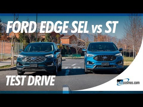 Test Drive Ford Edge 2019, SEL AWD y ST frente a frente