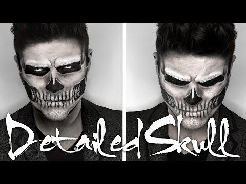 Maquillage Halloween Noir Et Blanc Facile Homme