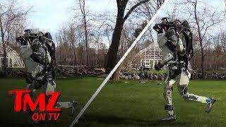 Scariest Robot Video of 2018 | TMZ TV - Video Youtube