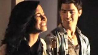 Make A Wave Music Video  Demi Lovato and Joe Jonas