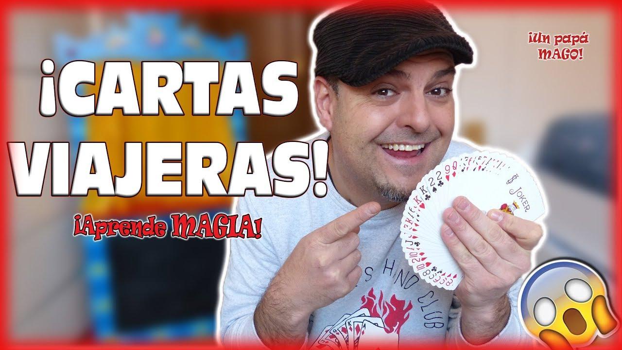 TRUCO DE MAGIA | CARTAS VIAJERAS | APRENDE MAGIA | CARTOMAGIA Is Family Friendly