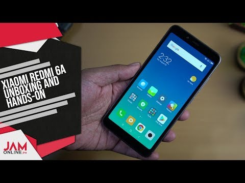 Xiaomi Redmi 6A Unboxing and Hands On