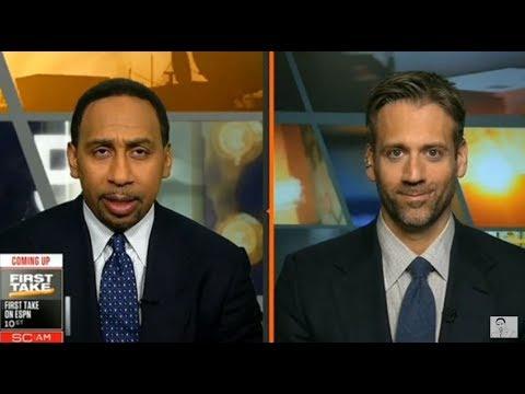 ESPN First Take Live 2/8/18 - Today Stephen A. Smith vs Max Kellerman & Molly Qerim