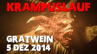 preview picture of video 'Krampuslauf Gratwein 2014'