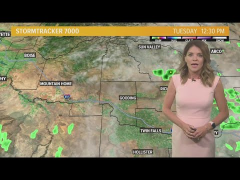Weather forecast for southern Idaho on Tuesday, May 28