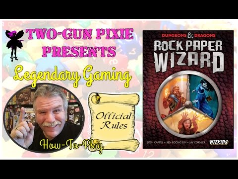 How To Play 018 - Rock Paper Wizard by Wizkids