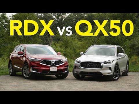 2019 Acura RDX vs Infiniti QX50: What Luxury Crossover Deserves Your Dollars?