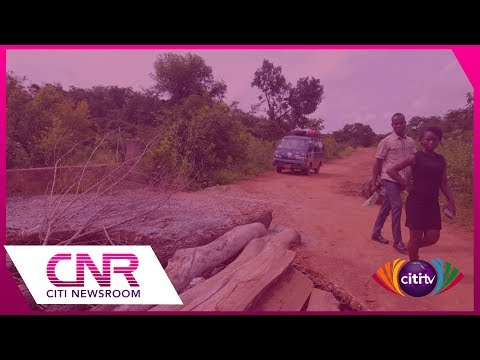Wa-Gwollu road: Commuters' lives at risk because of broken bridges