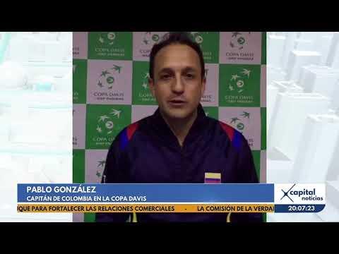 Bogota sera sede de la serie Colombia vs. Suecia de la Copa Davis