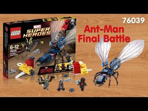 Lego Super Heroes 76039 Решающая битва Человека муравья - Ant-Man Final Battle