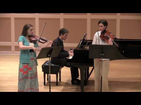 Mozart Sinfonia Concertante: Third Movement Martha McDermott, Violin Alexandria Mueller, Viola Anton Melnichenko, Piano
