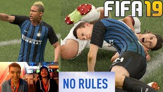 FIFA 19 NO RULES - INTER VS AC MILAN GAMEPLAY !!!