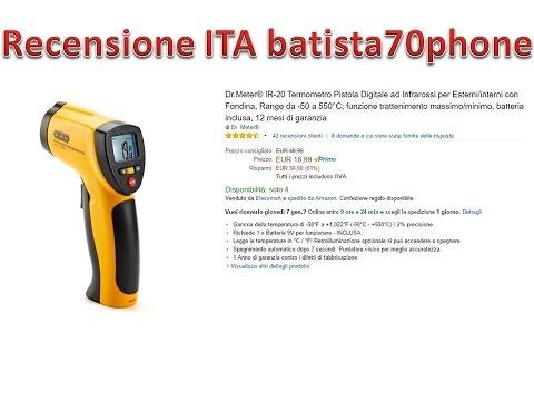 Termometro Infrarossi Recensione ITA da batista70phone