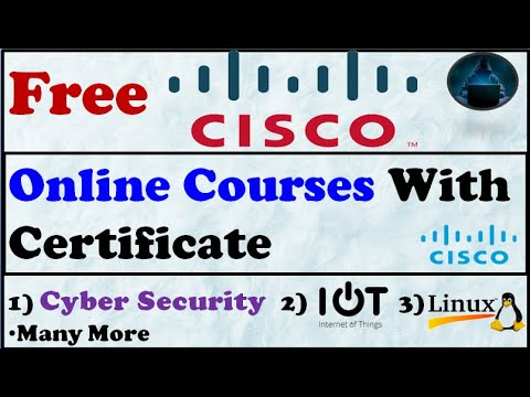 Cisco free course with certificate-How to get cisco free ... - YouTube