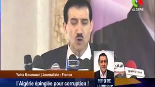 L'Algérie épinglée Pour Corruption