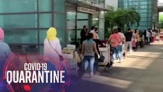 TINGNAN: Pila sa NAIA Terminal 3 sa unang araw ng pagbabalik ng commercial domestic flights