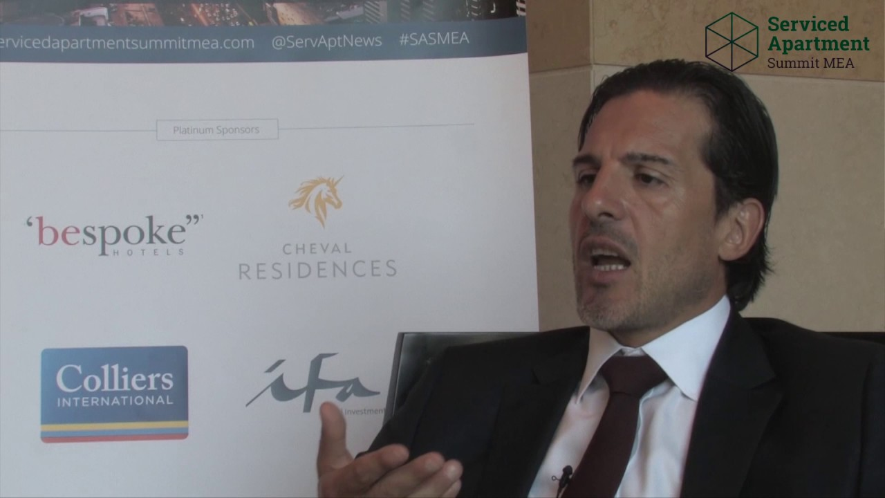 Serviced Apartment Summit MEA 2016 interviews: Filippo Sona, Colliers International
