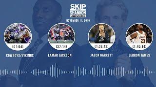 Cowboys/Vikings recap, Lamar Jackson, LeBron James   UNDISPUTED Audio Podcast