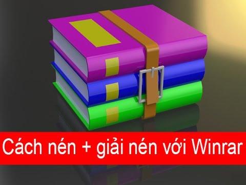 Hướng dẫn cách nén và giải nén file bằng phần mềm Winrar