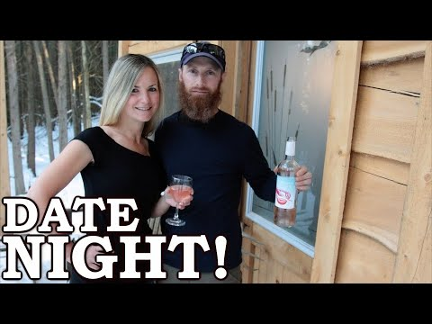 Weird DATE NIGHT at the Cabin! | She Eats My MYSTERY MEAT!