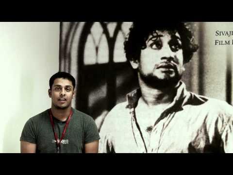 SRM Sivaji Ganesan Film Institute video cover1