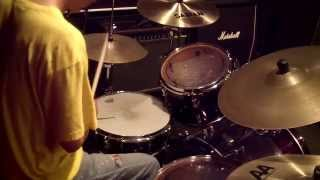 Double Bass Fill With One Foot ( Mike Johnston Style )   Drum Lesson #105