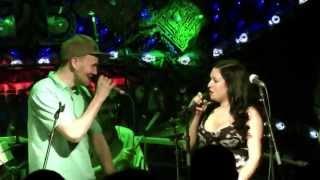 Video Riddimshot & Mr. Roll, Missy M, Messenjah - LIVE Cross Club 05/2