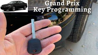 How To Program A Pontiac Grand Prix Key 2000 - 2008 DIY Transponder Chip Ignition