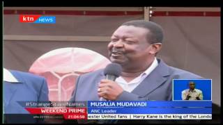 Weekend Prime : Musalia Mudavadi says his super alliance is going to oust Jubilee from power