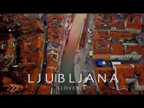 СЛОВЕНИЯ | Любимая Любляна - Парк Тиволи, Кафе Zvezda и Старый город